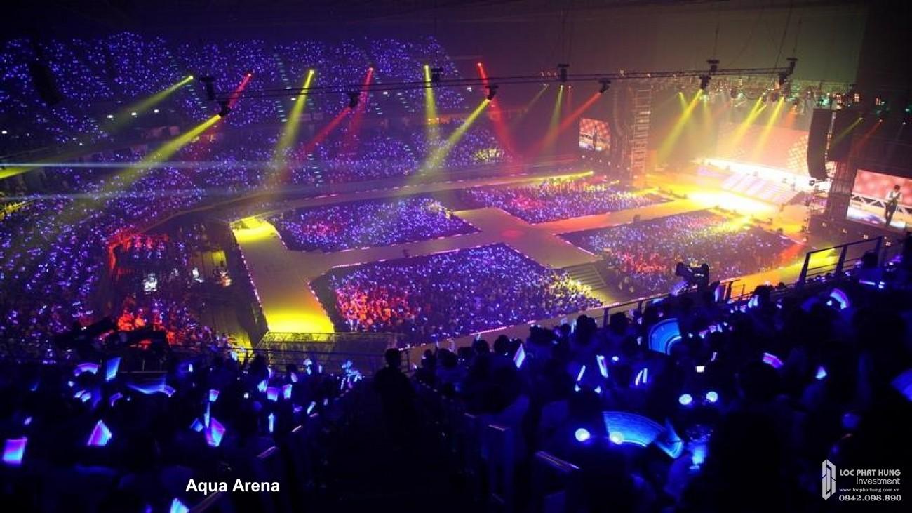 Aqua Arena - Quảng trường ánh sáng dự án nhà phố Đồng Nai Aqua City