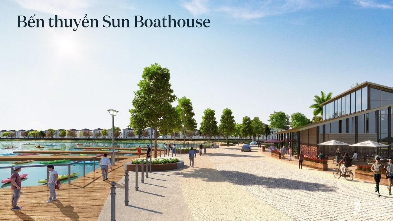 Bến thuyền Sun Boathouse tiện ích dự án Aqua City nhà phố Đồng Nai nhà phát triển Novaland