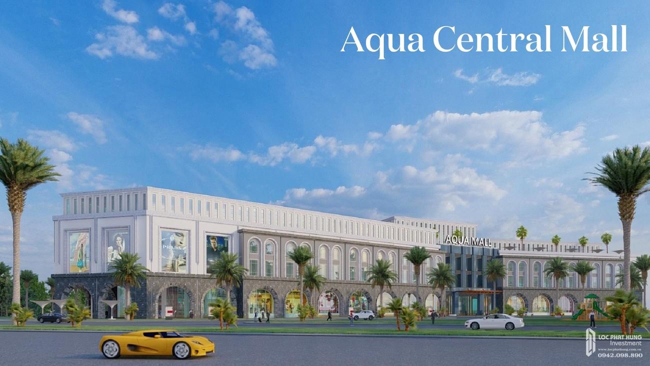 Aqua Central Mal khu trung tâm mua sắm sầm uất của dự án nhà phố Aqua City