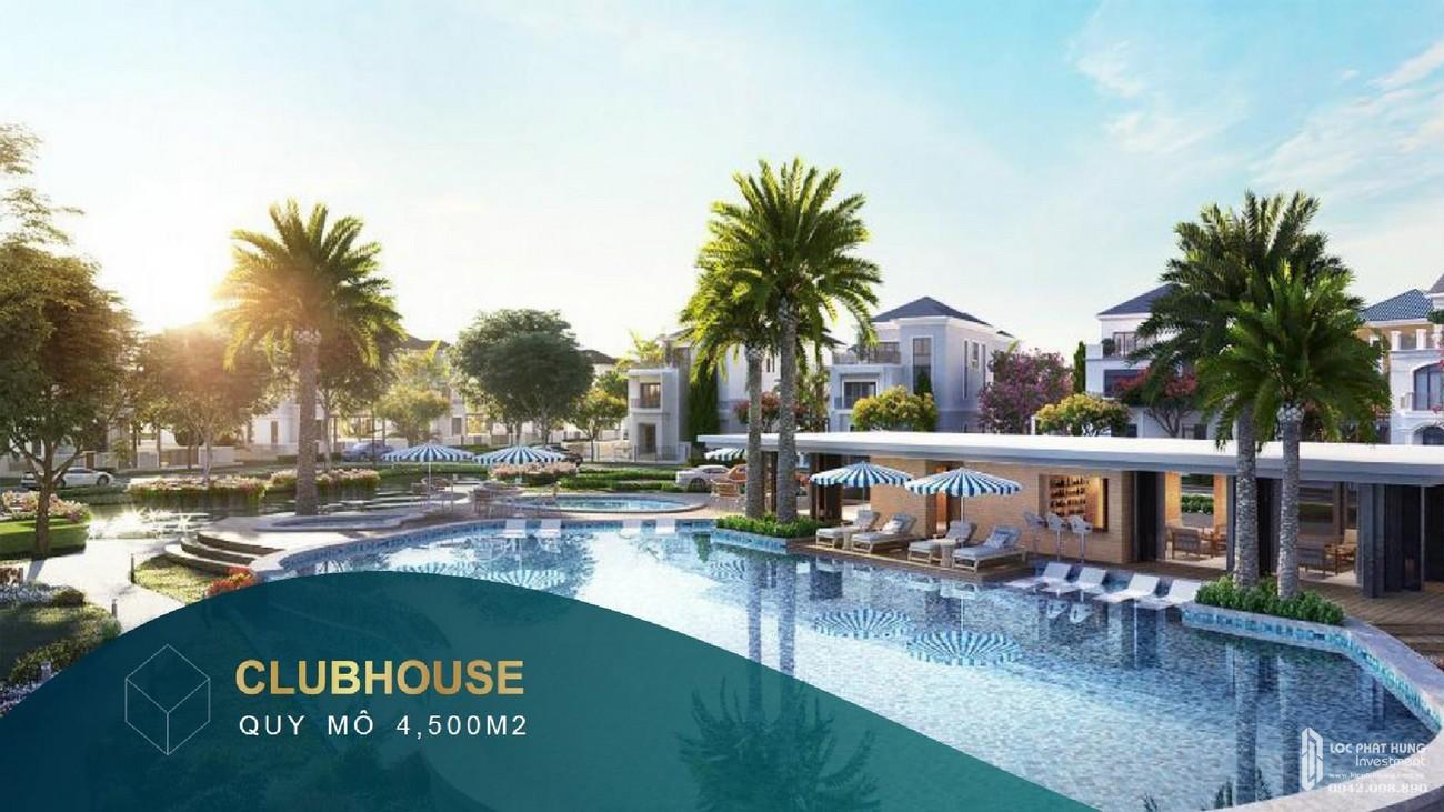 Club house với quy mô 4500 m2 mang đến trải nghiệm thú vị cho khách hàng khi đến với dự  án Aqua City của nhà phát triển Novaland