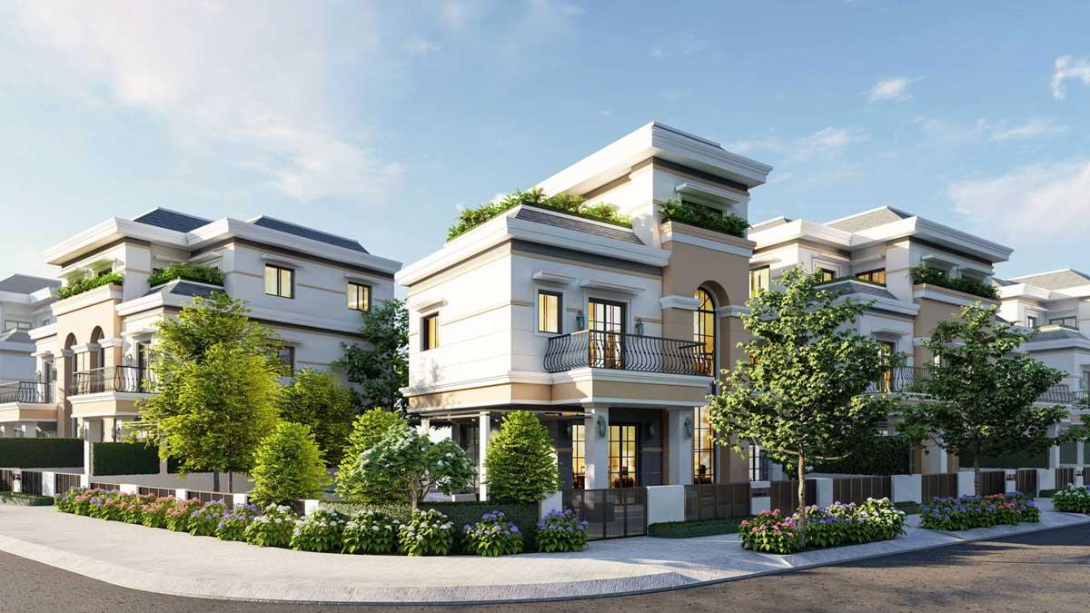 Biệt thự The Sol City Nam Sài Gòn chủ đầu tư Thắng Lợi – Phong cách Scandinavian