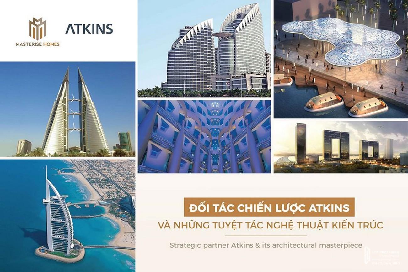 Dự án Masteri Lumiere Riverside cùng đối tác chiến lược Atkins tạo nên kiệt tác nghệ thuật kiến trúc