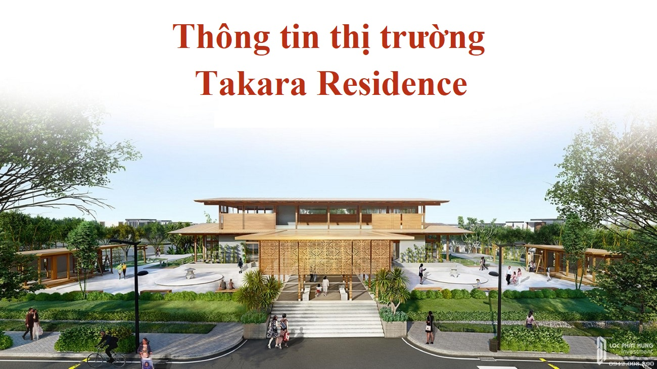 Thông tin dự án nhà phố Takara Residence Thủ Dầu Một Chánh Nghĩa chủ đầu tư Thành Nguyên