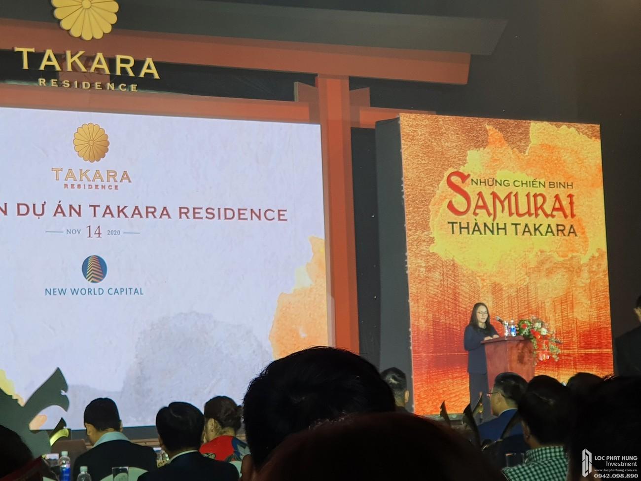 Lễ ra quân dự án nhà phố chung cư Takara Residence Thủ Dầu Một Chánh Nghĩa chủ đầu tư Thành Nguyên