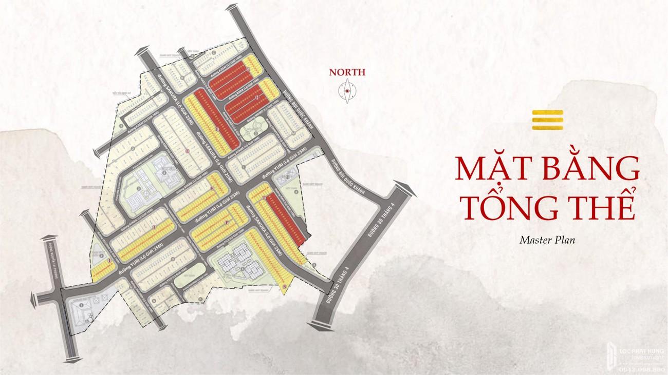Mặt bằng dự án nhà phố Takara Residence Thủ Dầu Một Chánh Nghĩa chủ đầu tư Thành Nguyên