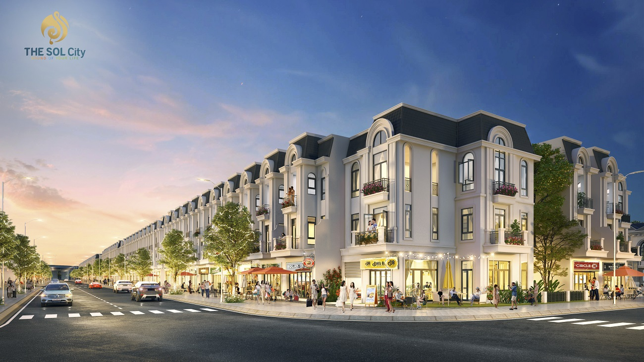 Thiết kế nhà phố thương mại