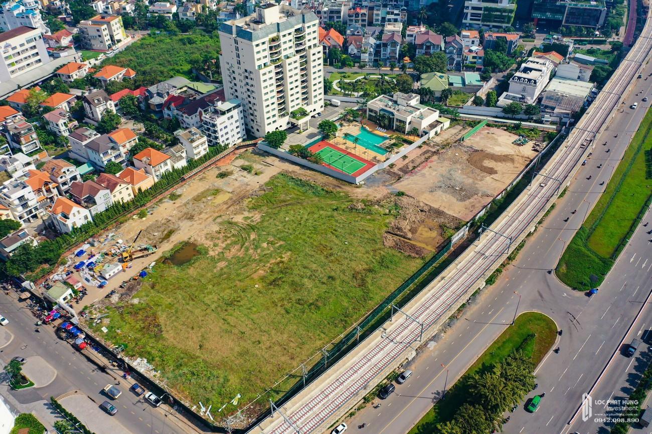 Vị trí địa chỉ dự án căn hộ chung cư Masterise Lumière Riverside Quận 2 Đường Xa Lộ Hà Nội chủ đầu tư Masterise Homes