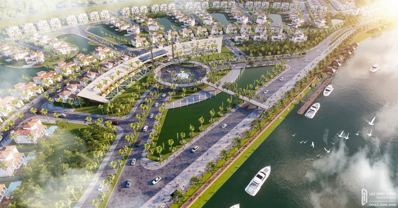 Phối cảnh bất động sản nghỉ dưỡng Sunshine Heritage Resort Hà Nội