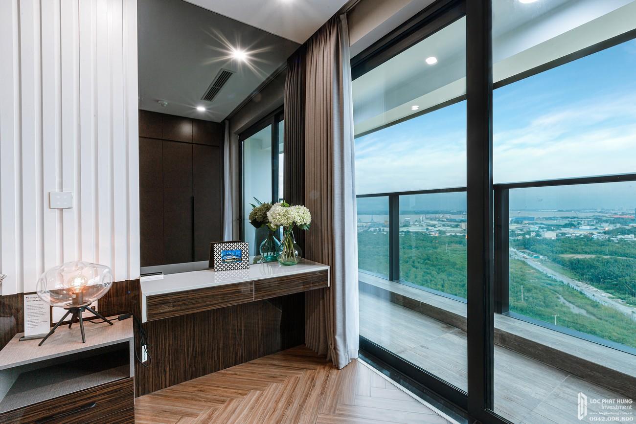 Phòng khách trực diện view sông tại dự án TNR Viva Panorama Quận 7