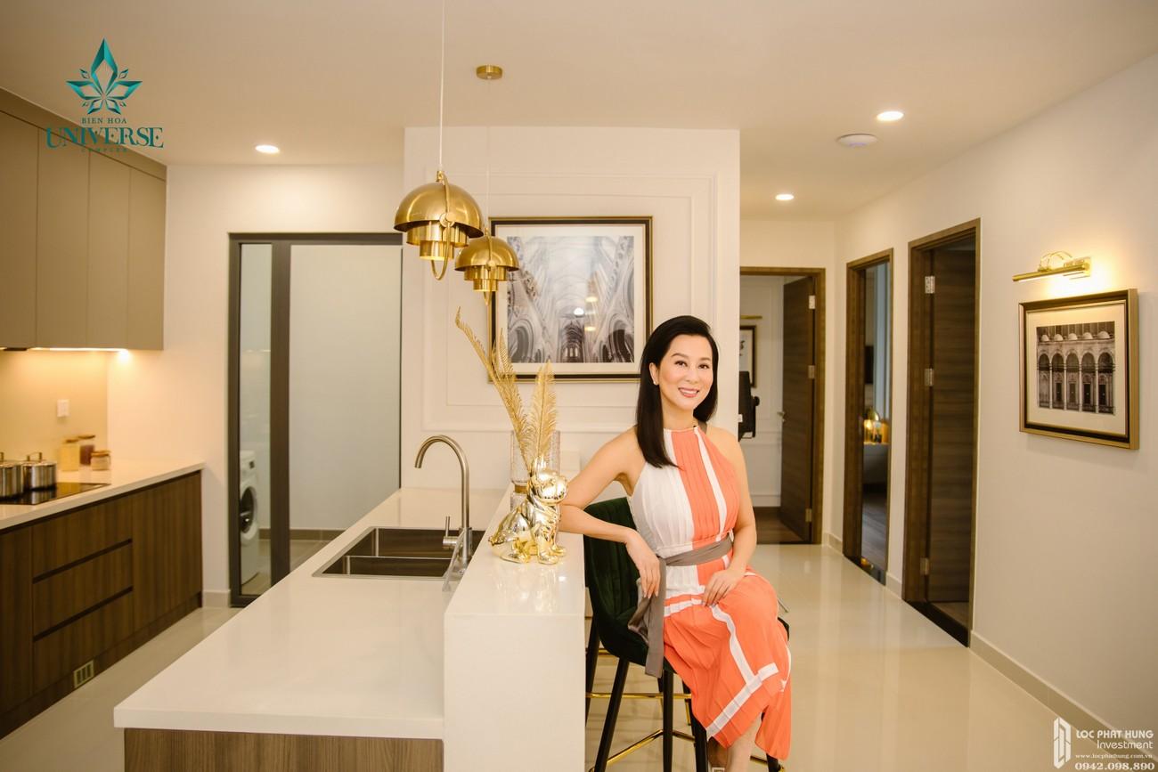 Nhà mẫu dự án căn hộ chung cư Biên Hoà Universe Complex Biên Hoà Đường Xa lộ Hà Nội chủ đầu tư Hưng Thịnh