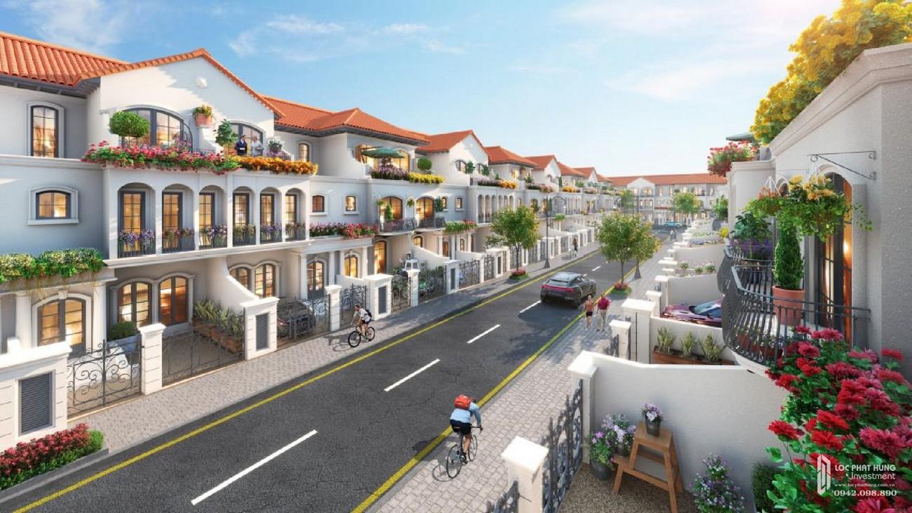 Nhà mẫu dự án Nhà Phố chung cư Valencia Biên Hòa Đường Quốc lộ 51 nhà phát triển Novaland