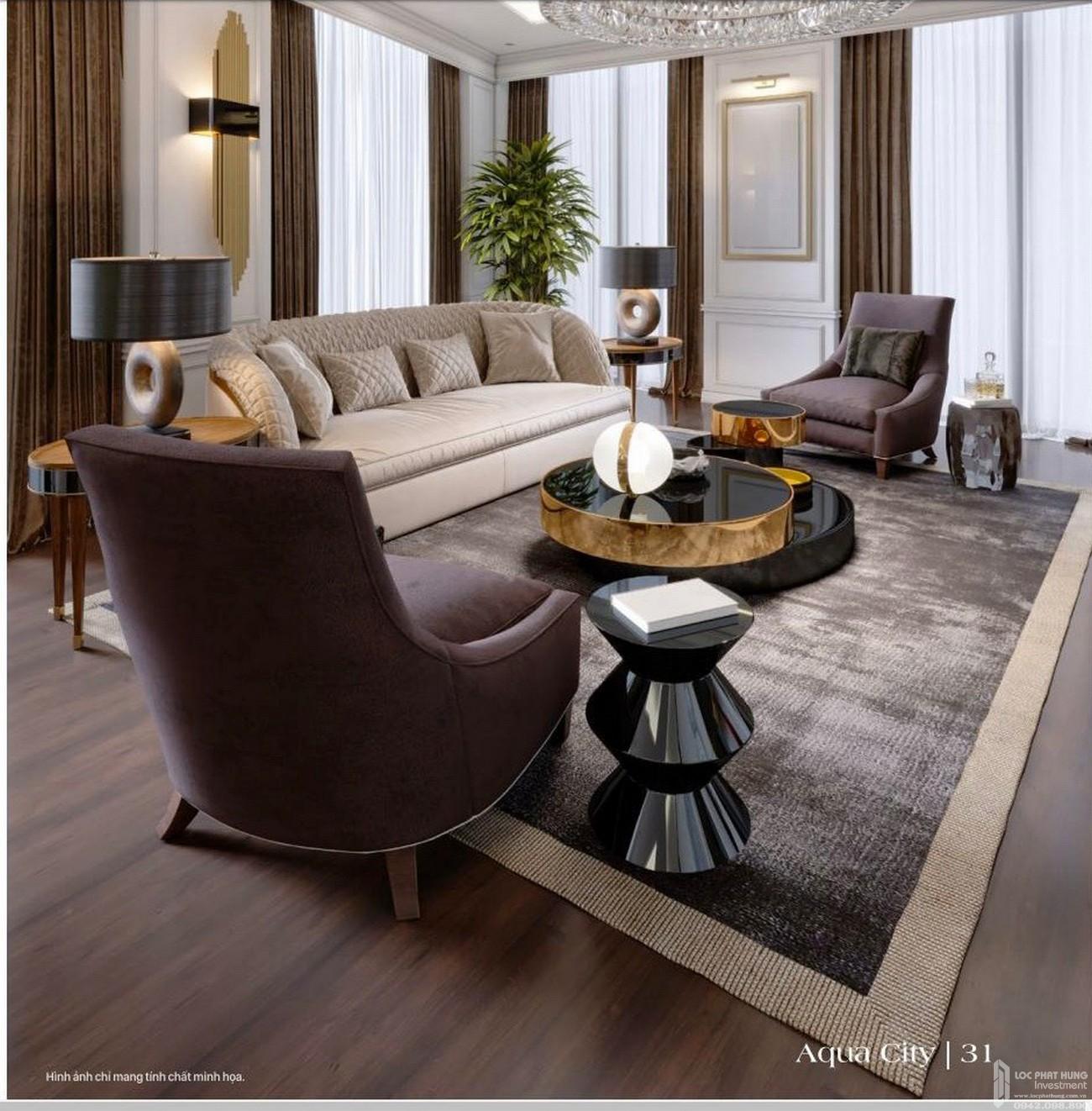 Thiết kế nội thất mang đến vẻ sang trọng, hiện đại cũng không kém phần thanh lịch