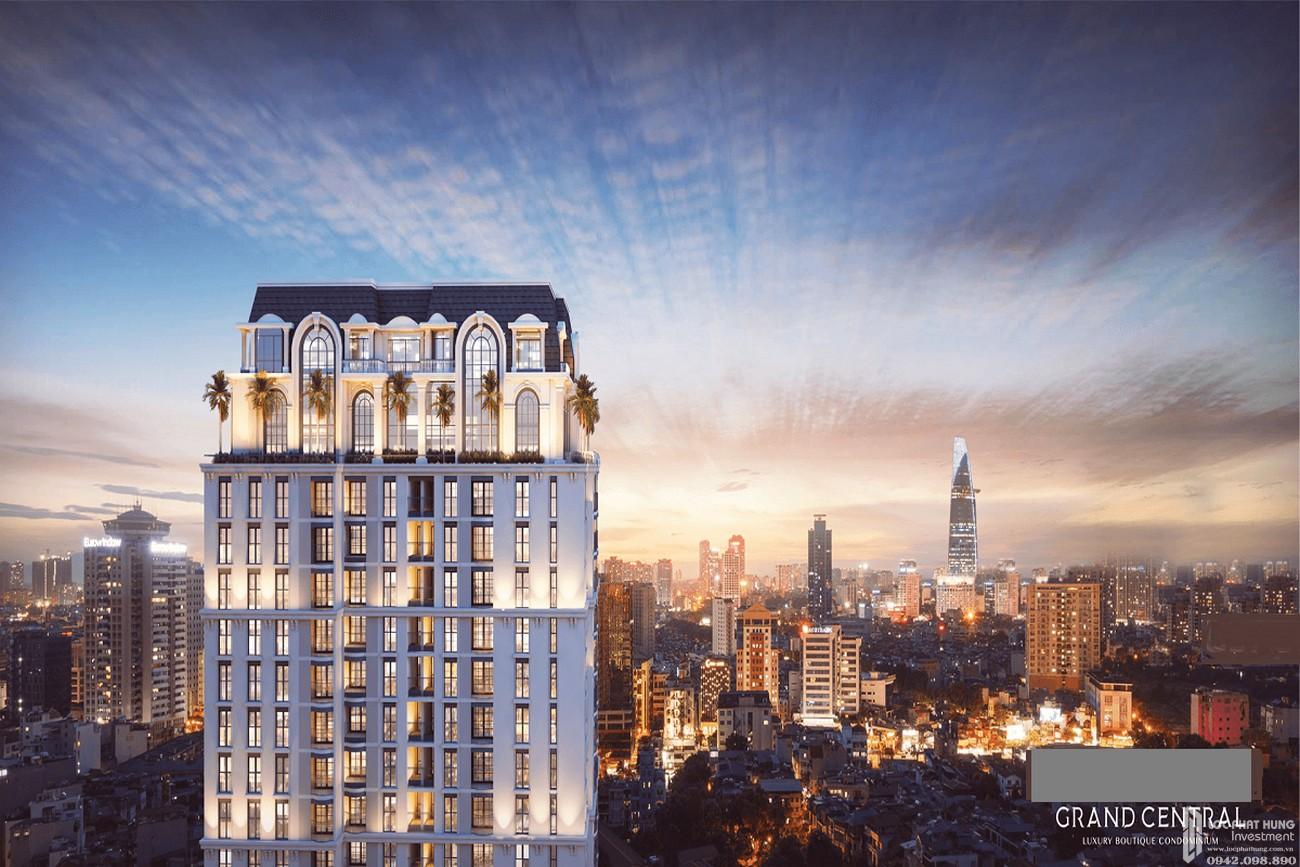 Phối cảnh dự án căn hộ Grand Central quận 3