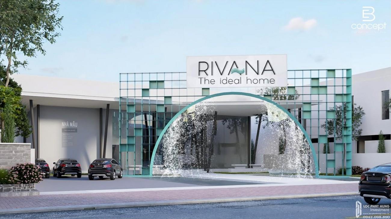 Phối cảnh tổng thể dự án căn hộ chung cư The Rivana Thuận An Đường Quốc lộ 13 chủ đầu tư Đạt Phước