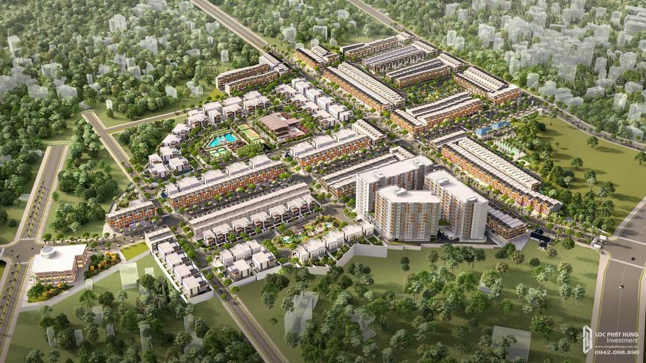 Phối cảnh dự án nhà phố Takara Residence Bình Dương chủ đầu tư Thành Nguyên