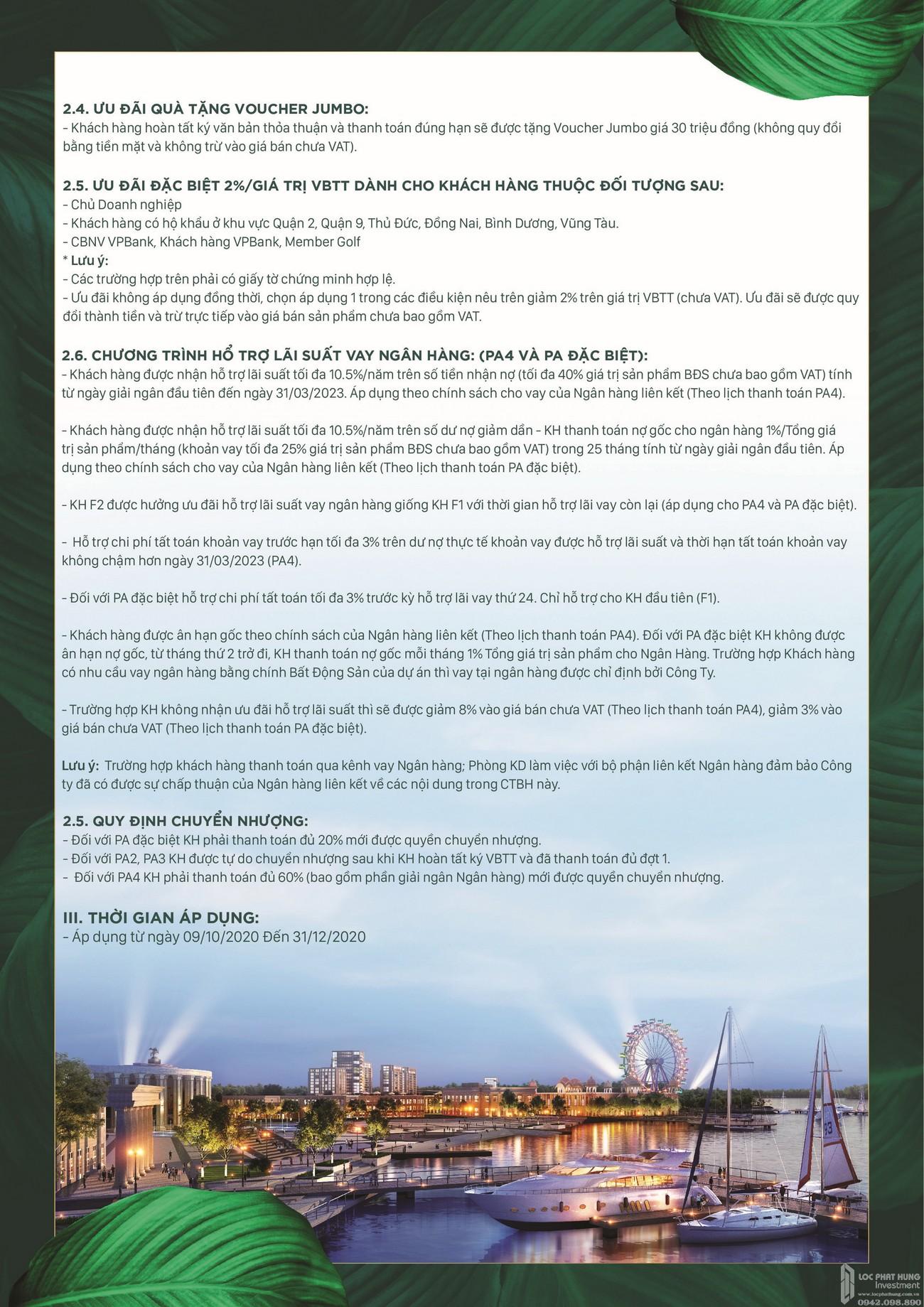 Phương thức thanh toán dự án nhà phố Aqua City The Suite Biên Hòa Đường Long Hưng nhà phát triển Novaland
