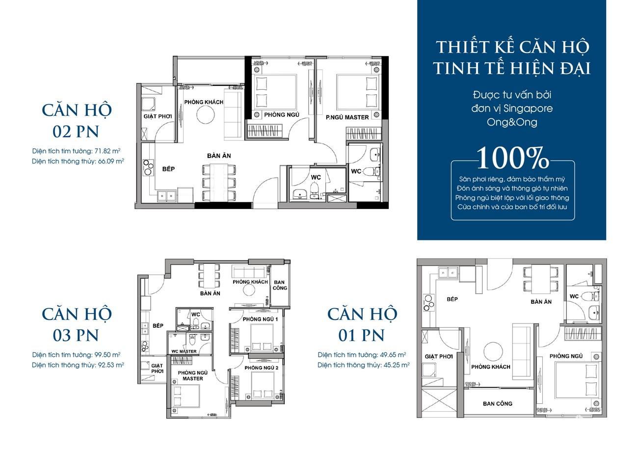 Thiết kế dự án căn hộ chung cư Rivana Thuận An Đường Quốc lộ 13 chủ đầu tư Đạt Phước