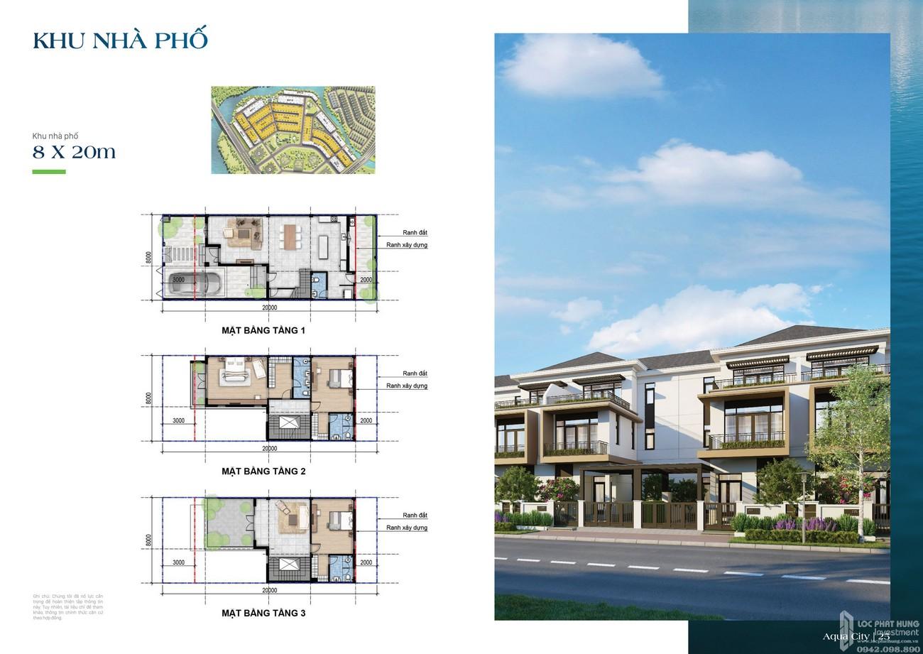 Khu nhà phố 8x20m - dự án The Suite