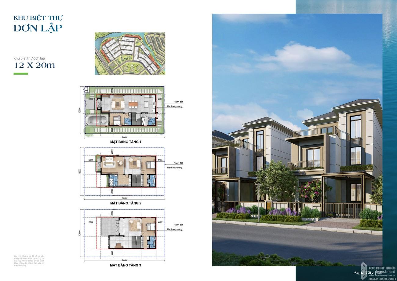 Khu biệt thự đơn lập 12x20m - dự án The Suite