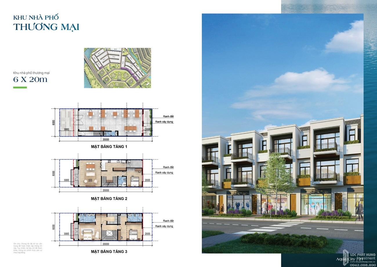 Khu nhà phố thương mại 6x20m - dự án The Suite