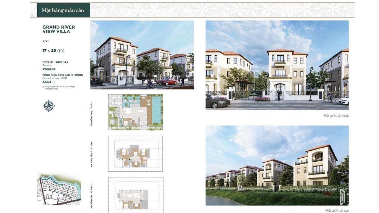 Thiết kế dự án nhà phố Aqua City The Valencia Biên Hòa Đường Nam Cao chủ đầu tư Novaland