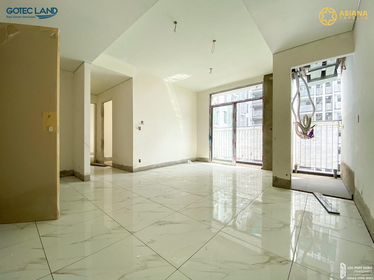 Tiến độ Asiana Capella dự án căn hộ chung cư Quận 6 Đường 184 Trần Văn Kiểu chủ đầu tư Gotec Land