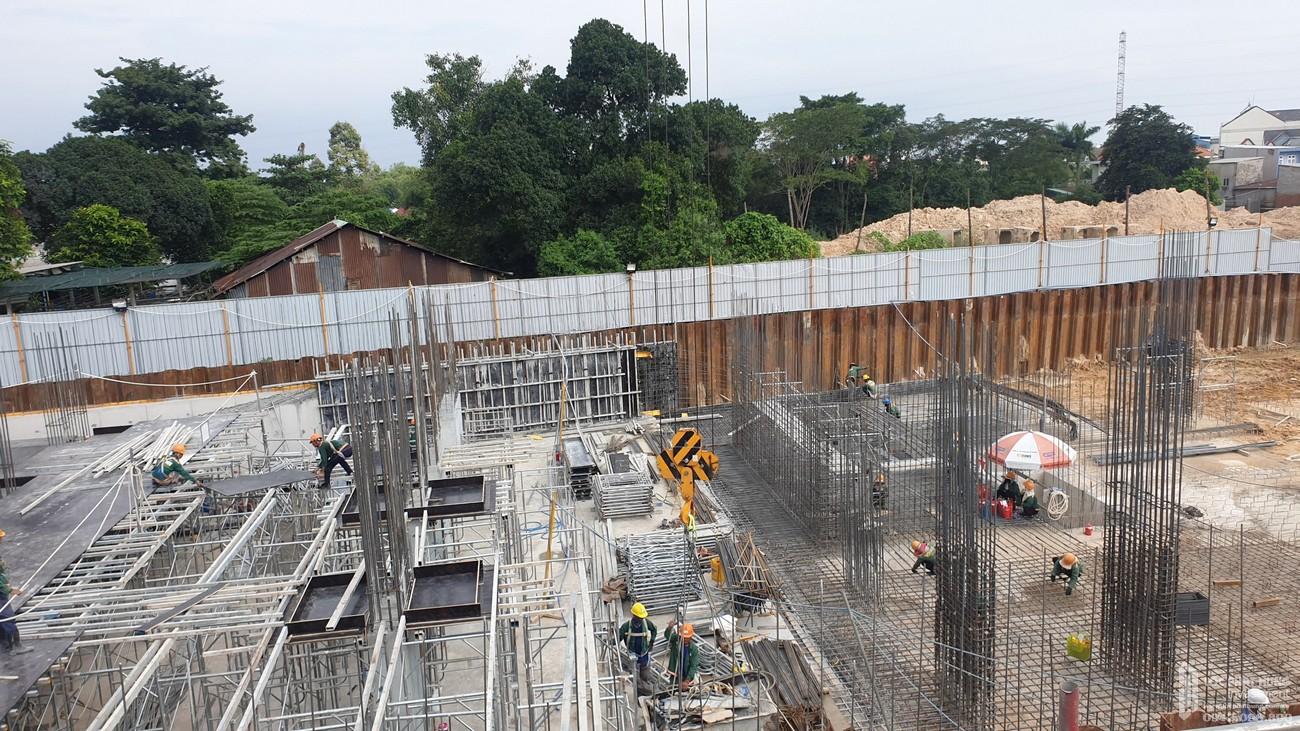 Tiến độ Bcons Bee tháng 11/2020 dự án căn hộ chung cư Dĩ An Đường Trần Đại Nghĩa chủ đầu tư Bcons