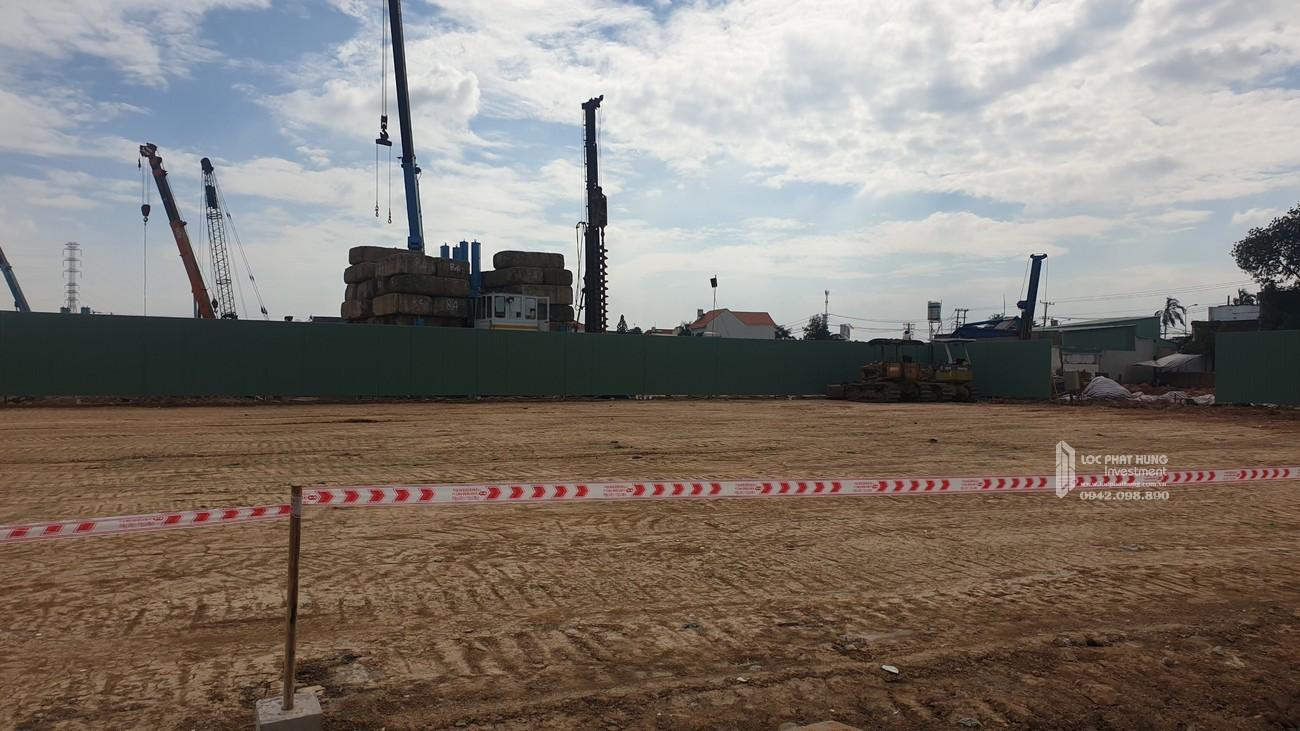 Tiến độ Bcons Plaza dự án căn hộ chung cư Dĩ An Đường Thống Nhất chủ đầu tư Bcons