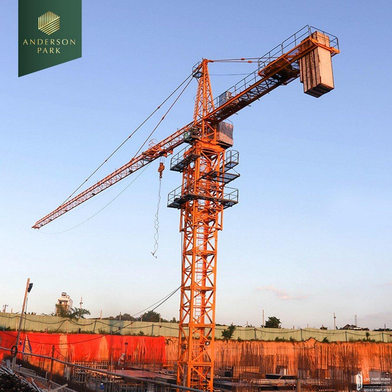 Tiến độ dự án căn hộ chung cư Anderson Park Thuận An Bình Dương tháng 11/2020