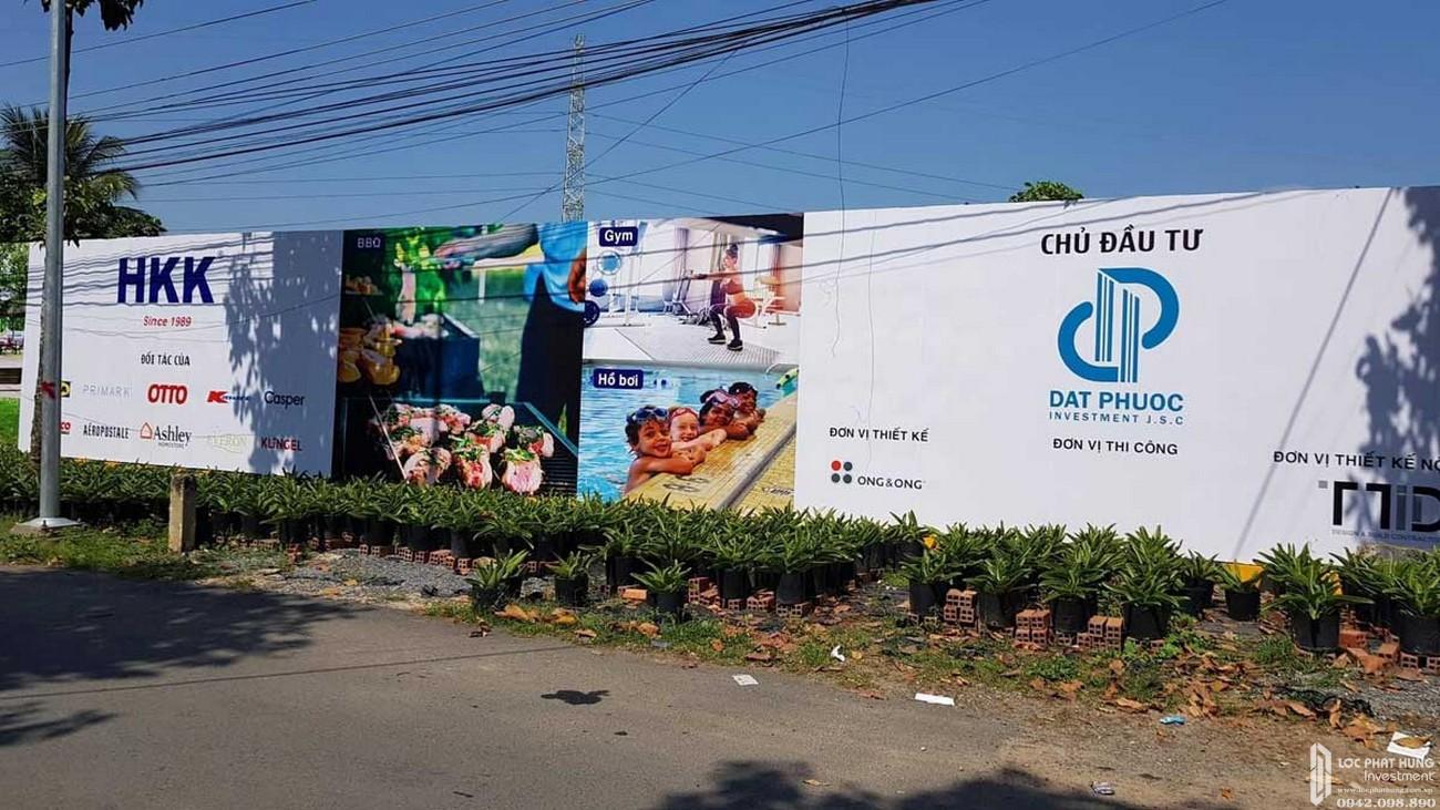 Tiến độ dự án căn hộ Rivana Thuận An Đường Quốc lộ 13 chủ đầu tư Đạt Phước