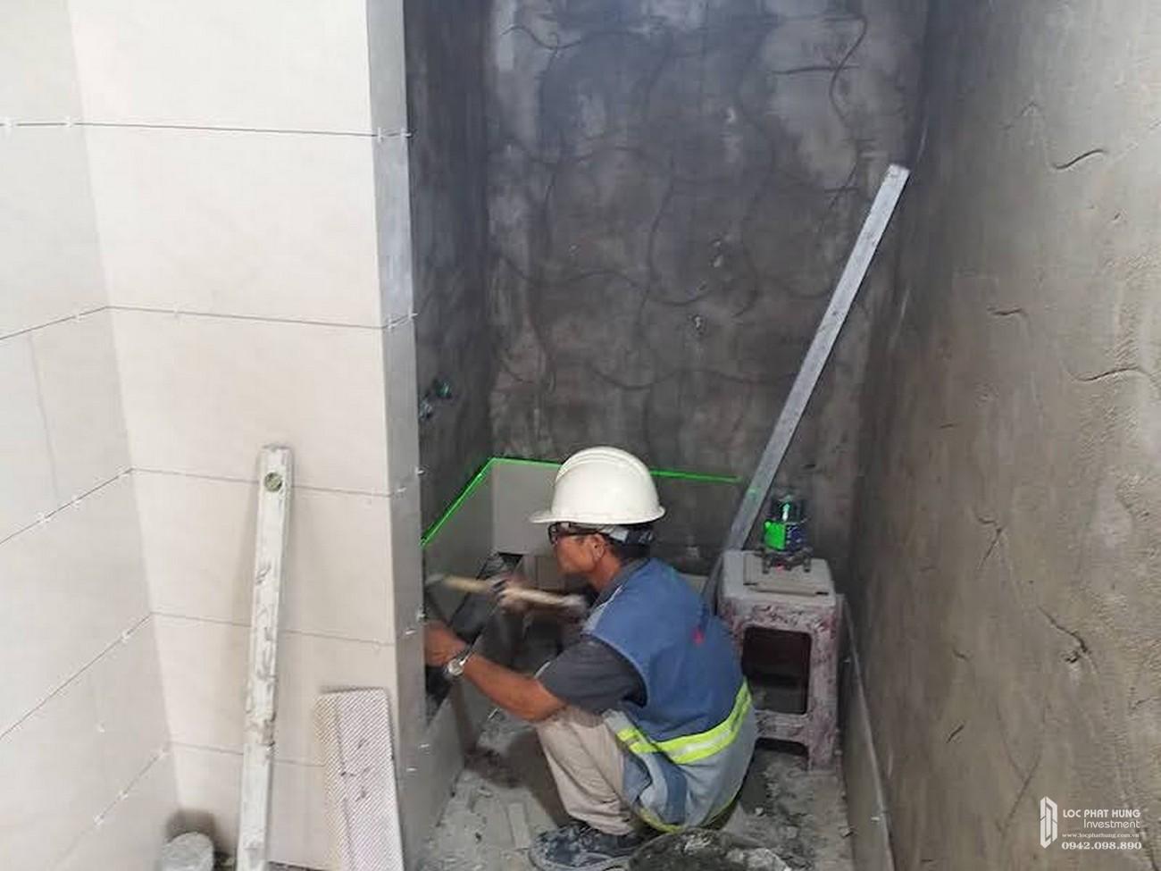 Tiến độ dự án căn hộ chung cư Sky 89 Quận 7 Đường Hoàng Quốc Việt chủ đầu tư An Gia Investment tháng 09
