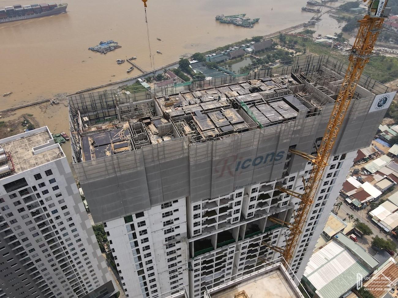 Tiến độ dự án căn hộ chung cư Sky 89 Quận 7 Đường Hoàng Quốc Việt chủ đầu tư An Gia Investment tháng 11