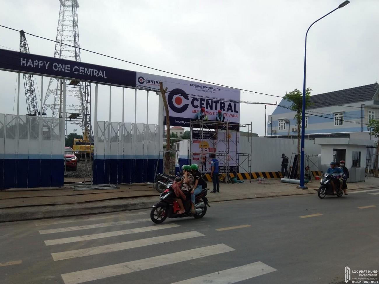 Tiến độ dự án Căn Hộ chung cư Happy One Central Phú Hòa Đường Đại Lộ Thủ Dầu Một chủ đầu tư Ốc Vạn Xuân