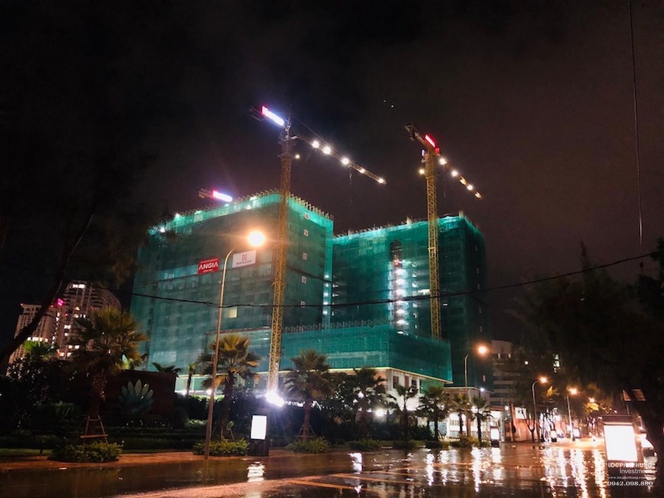 Tiến độ dự án căn hộ condotel The Sóng Vũng Tàu Đường Thi Sách chủ đầu tư An Gia Investment tháng 11
