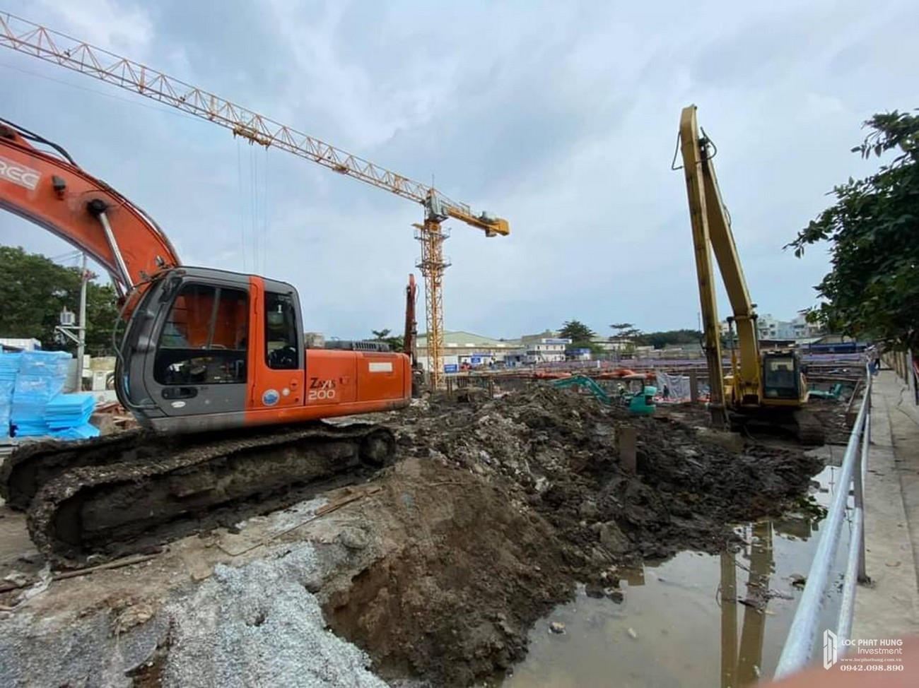 Tiến độ Pegasuite 2 dự án căn hộ chung cư  Quận 8 Đường Tạ Quang Bửu chủ đầu tư Phú Gia