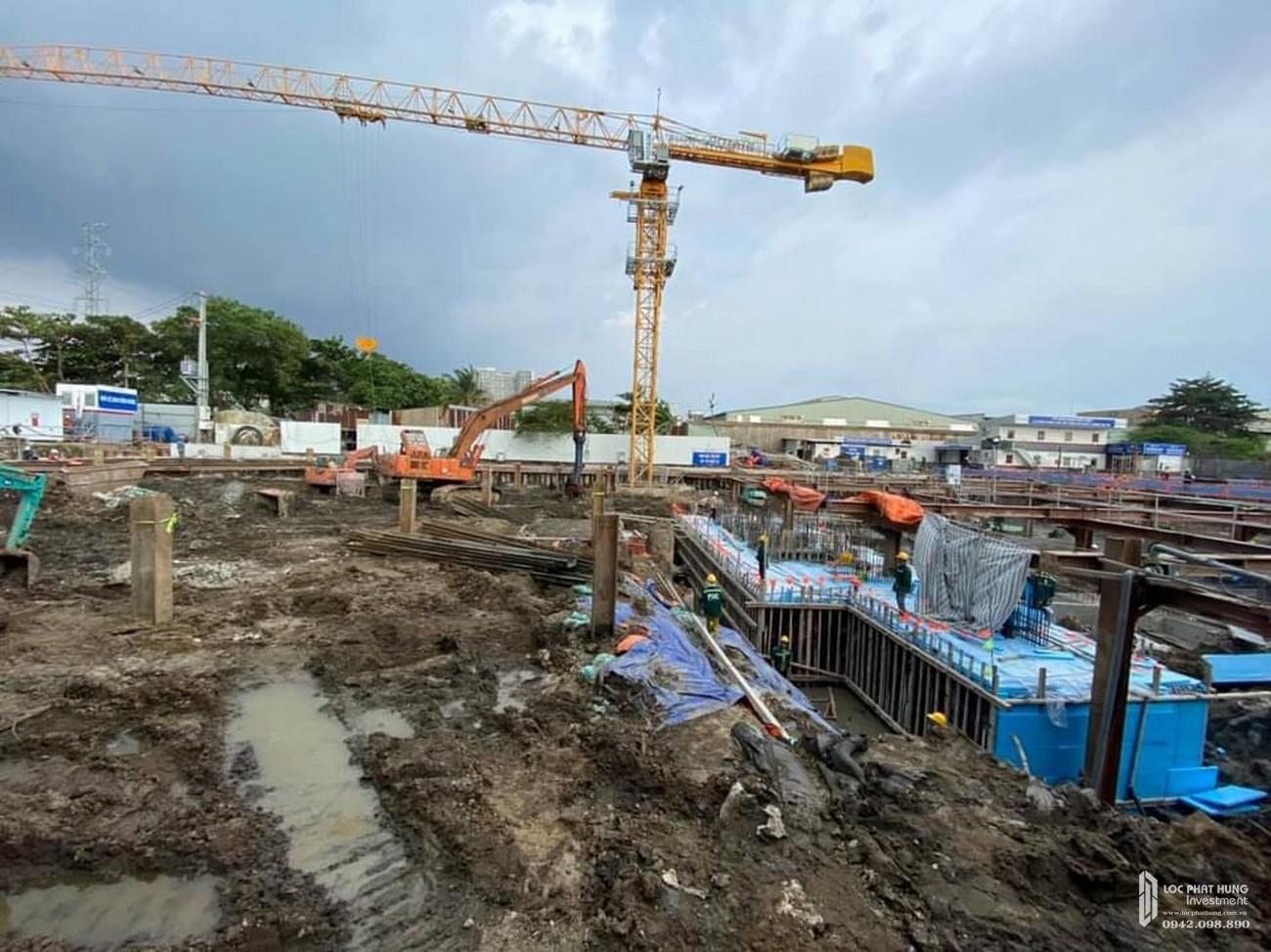 Tiến độ dự án căn hộ chung cư Pegasute 2 Quận 8 Đường Tạ Quang Bửu chủ đầu tư Phú Gia