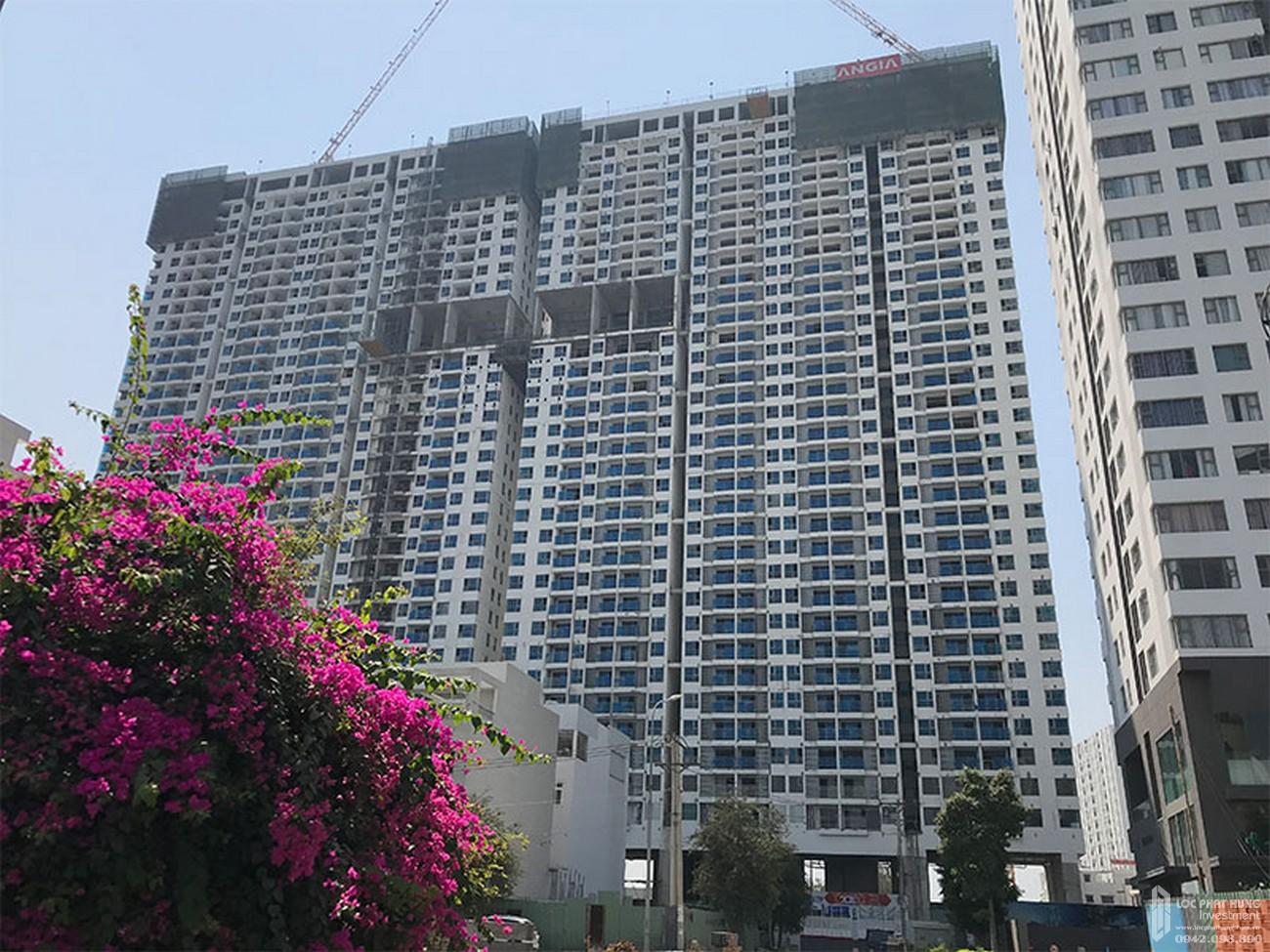 Toàn cảnh công trình dự án căn hộ chung cư River Panorama Quận 7 tháng 02/2020