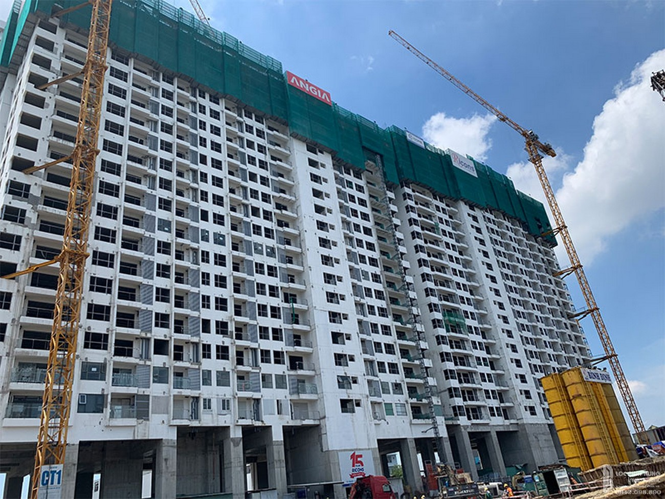 Tiến độ River Panorama dự án căn hộ chung cư Quận 7 tháng 08/2019 Đường Hoàng Quốc Việt chủ đầu tư An Gia Investment