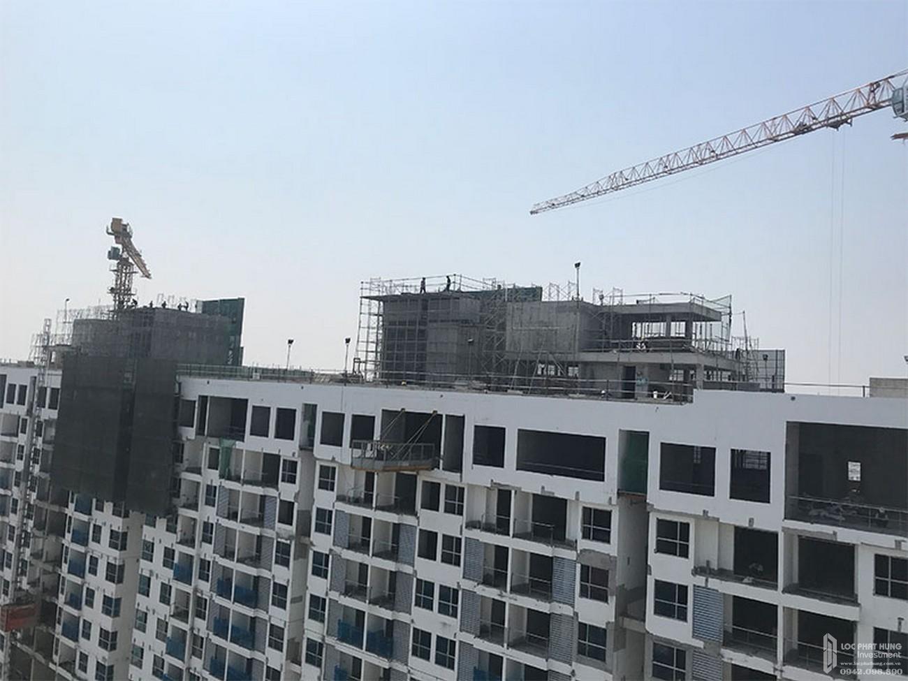 Toàn cảnh công trình dự án căn hộ River Panorama Quận 7 tháng 03/2020