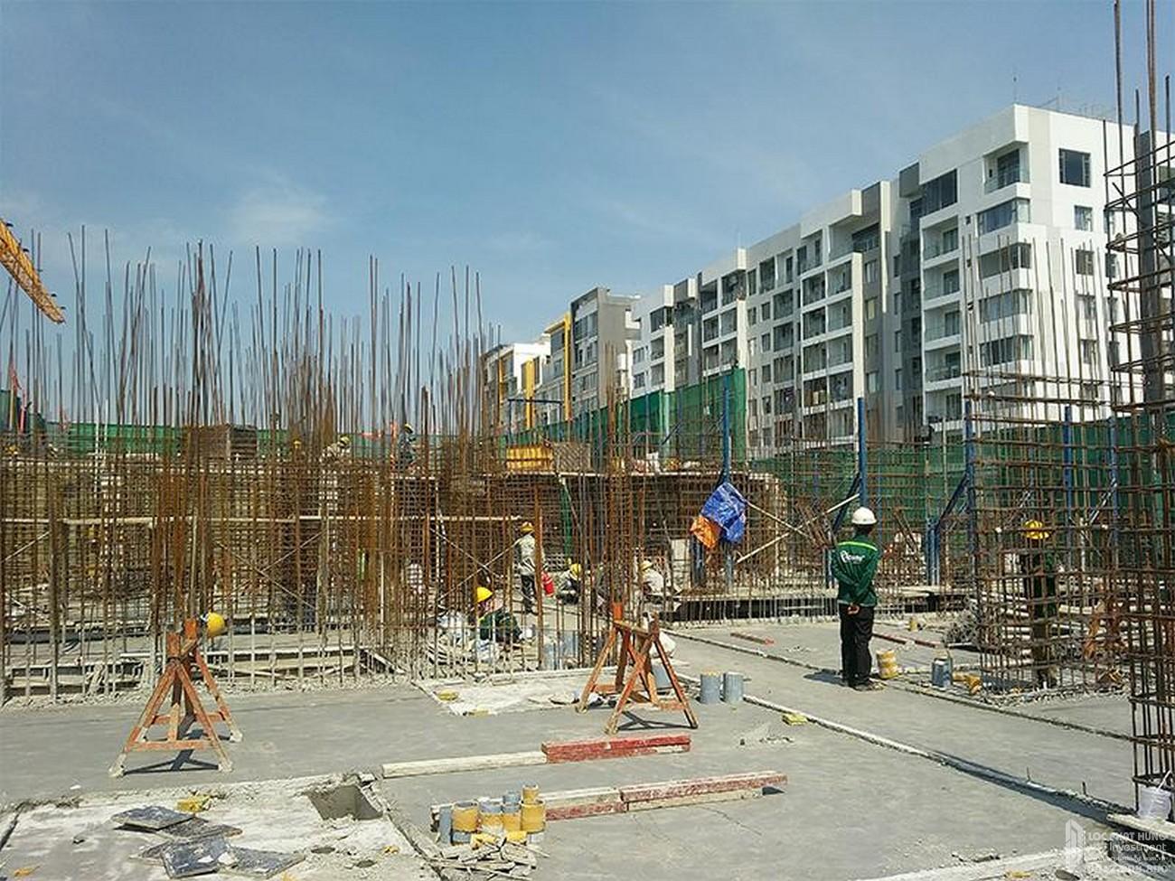 Tiến độ River Panorama dự án căn hộ chung cư Quận 7 tháng 10/2019 Đường Hoàng Quốc Việt chủ đầu tư An Gia Investment