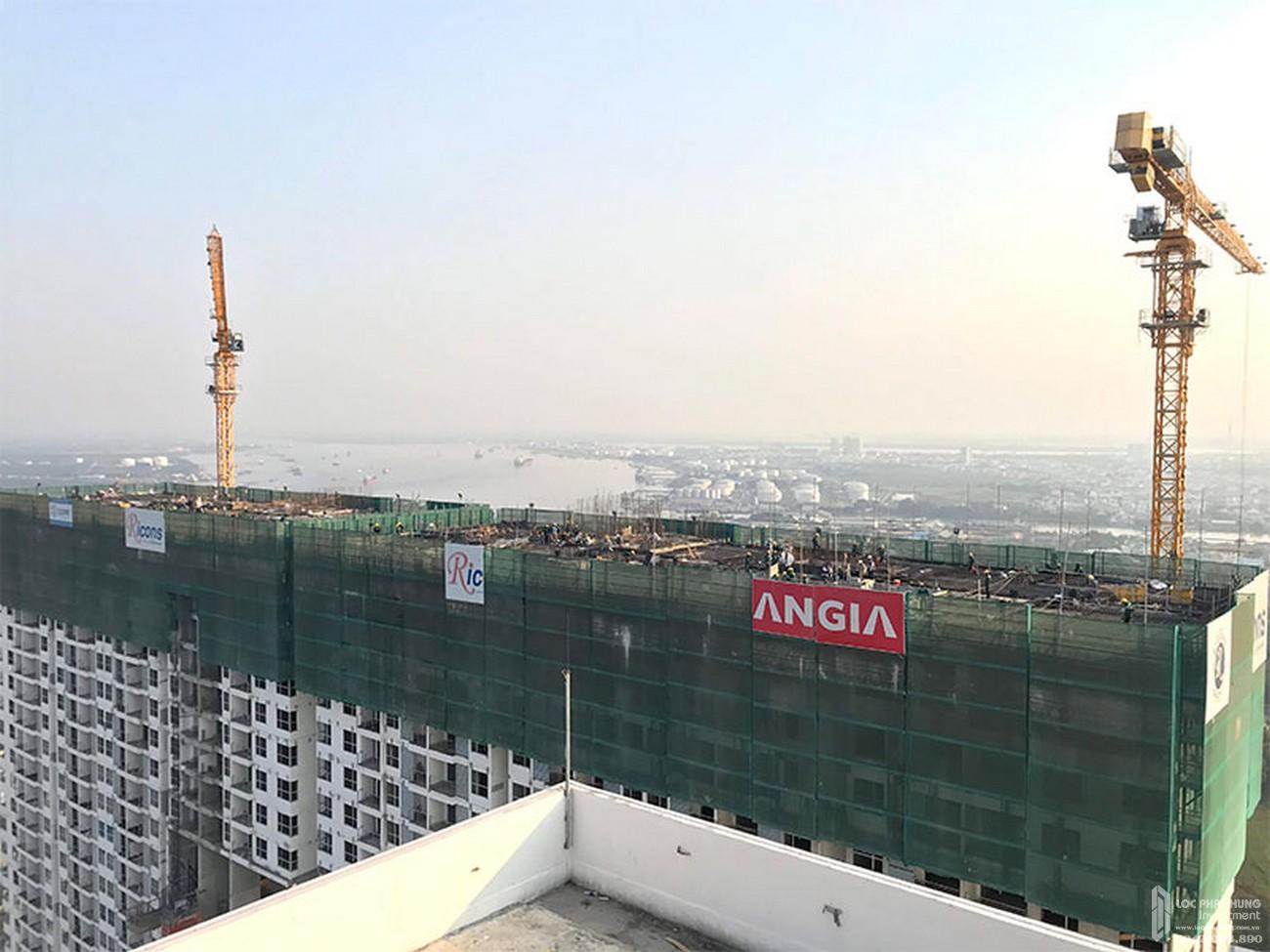 Tiến độ River Panorama dự án căn hộ chung cư Quận 7 tháng 01/2020 Đường Hoàng Quốc Việt chủ đầu tư An Gia Investment