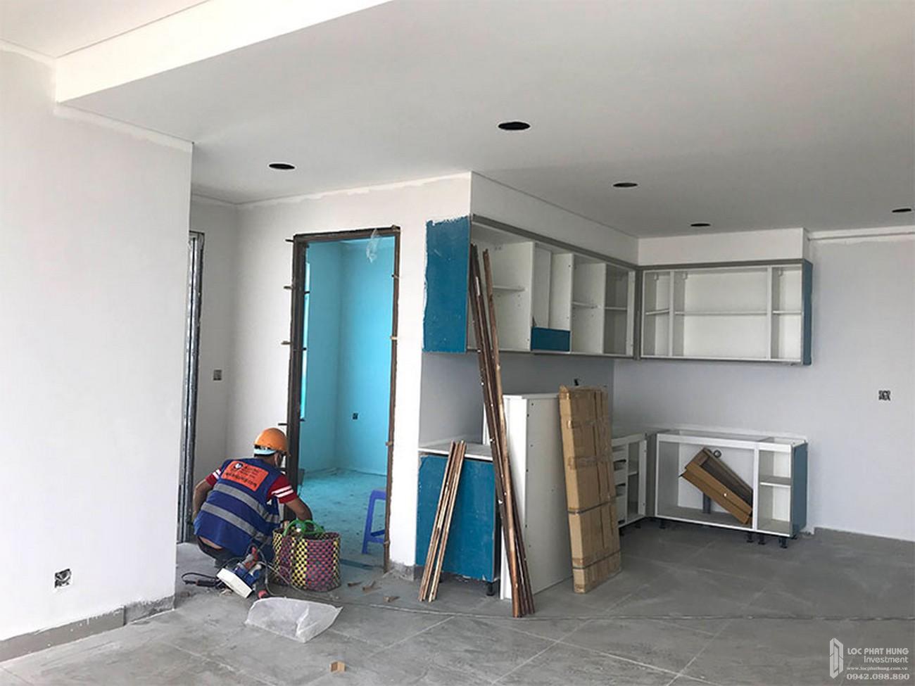 Tiến độ River Panorama dự án căn hộ chung cư Quận 7 Đường Hoàng Quốc Việt chủ đầu tư An Gia Investment