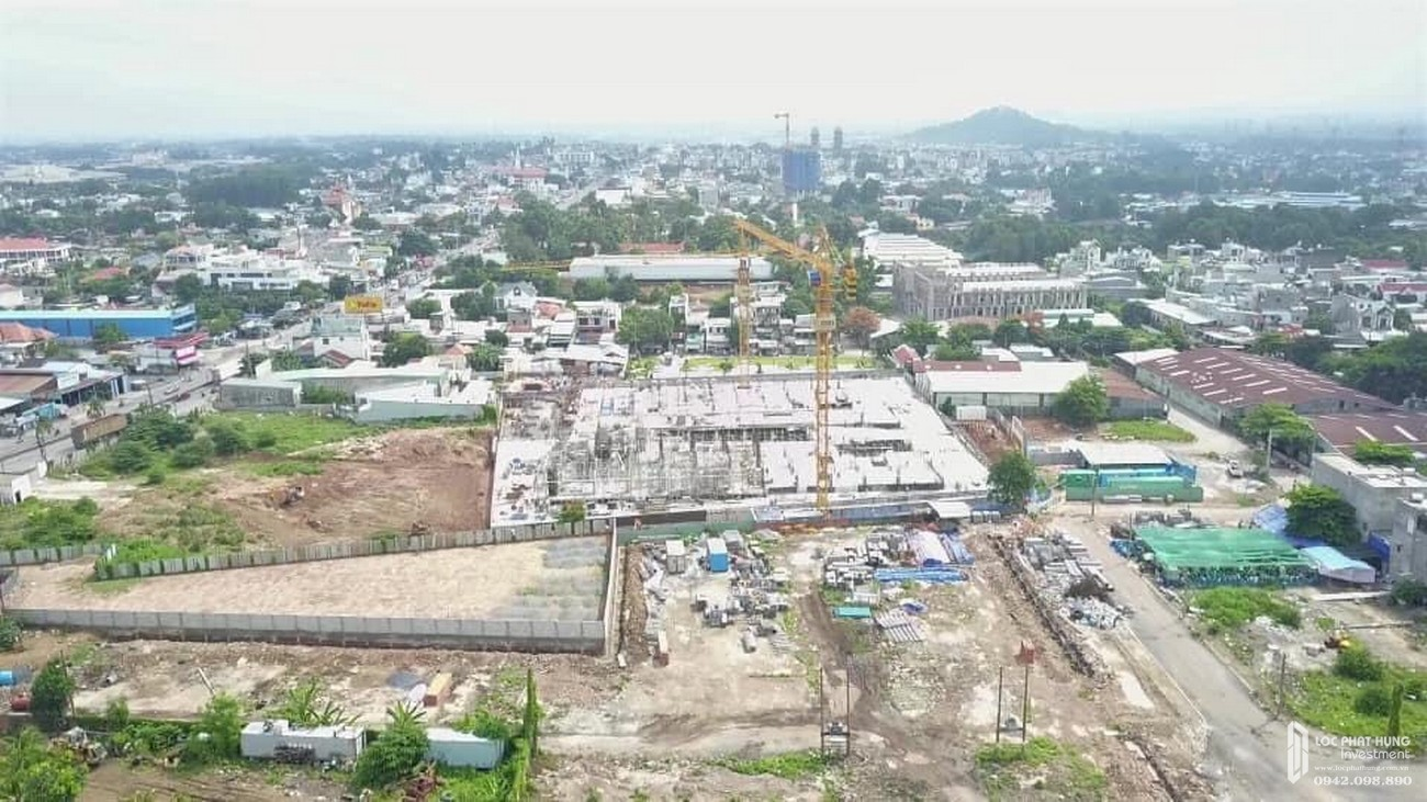 Tiến độ xây dựng Bcons Plaza