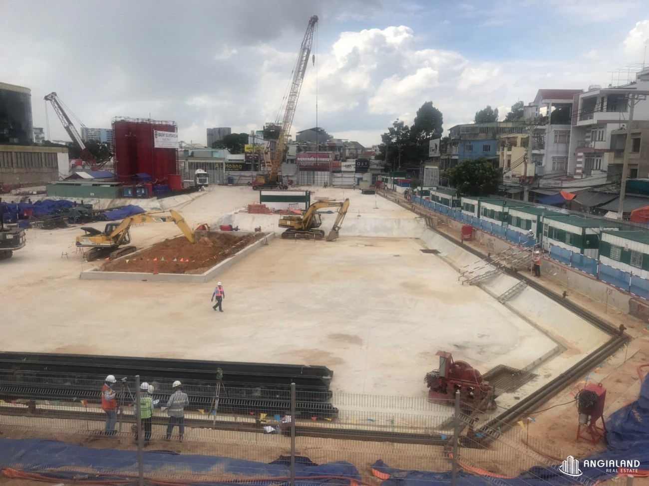 Tiên độ xây dựng chung cư King Crown Infinity tháng 06/2021