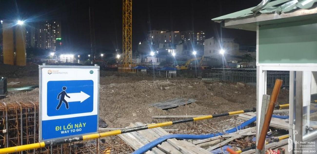 Tiến độ xây dựng tháng 11/2020 dự án căn hộ chung cư Sunshine Horizon Quận 4 Đường Tôn Thất Thuyết chủ đầu tư Sunshine Group