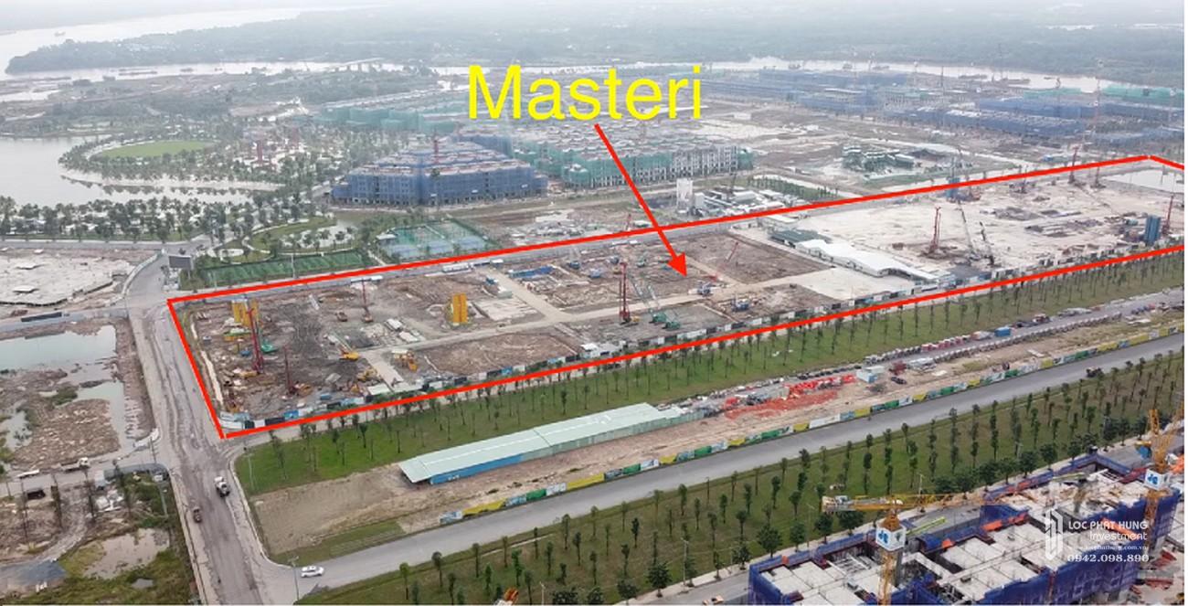 Tiến độ dự án căn hộ chung cư Masteri Centre Point Quận 9 Đường Nguyễn Xiển chủ đầu tư Vingroup