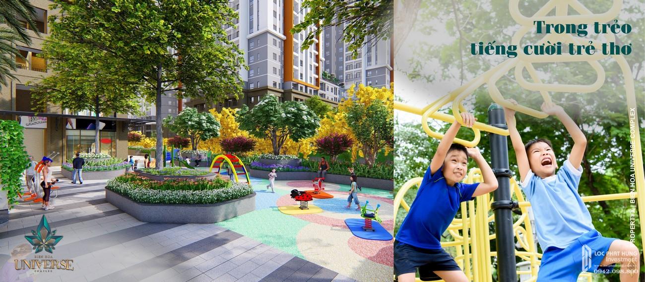Tiện ích dự án căn hộ chung cư Biên Hoà Universe Complex Biên Hoà Đường Xa lộ Hà Nội chủ đầu tư Hưng Thịnh