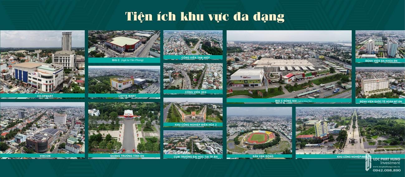 Tiện ích dự án căn hộ chung cư Biên Hoà Universe Complex Đường Xa lộ Hà Nội chủ đầu tư Hưng Thịnh