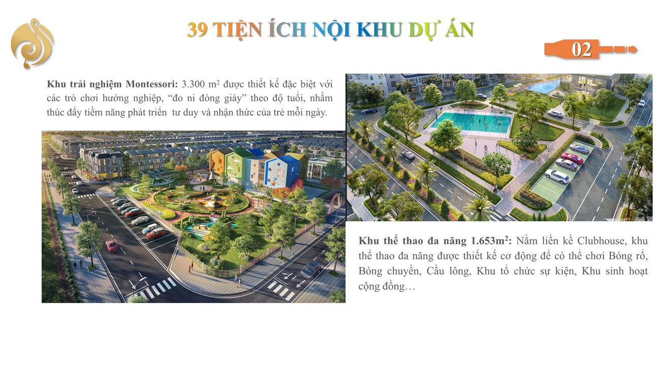 Tiện ích dự án đất nền The Sol City  Cần Giuộc Đường Hương Lộ 11 chủ đầu tư Thắng Lợi Group