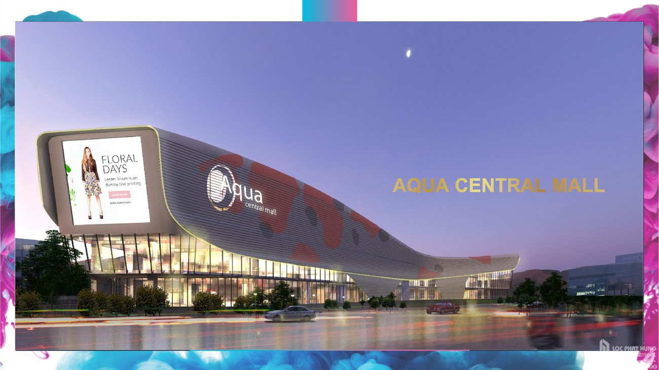 Aqua Central Mall - Dự án Aqua City The Elite